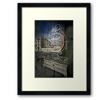 Time Piece for Sale Framed Print