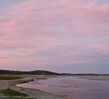 Sunset at Prawn Rock Channel 2 by pennyswork