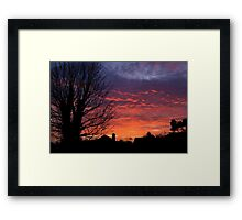 Afterglow Framed Print
