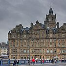 The Balmoral from North Bridge by Tom Gomez