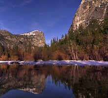 Mirror Lake Reflections by MattGranz