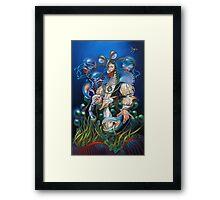 Madame Clawdia Framed Print