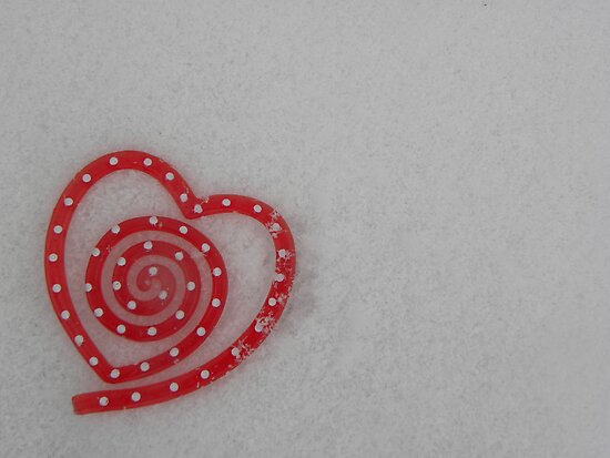 "I ""Heart"" Snow by CourtneyMichell"