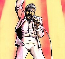 Marvin Gaye 2 by Margaret Sanderson