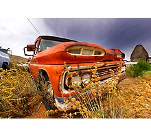 Old abandoned car Photographic Print