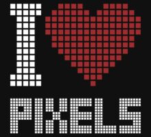 I love pixels by no-doubt