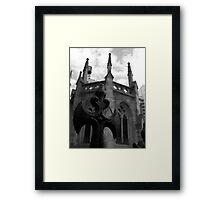 Iron Moat Framed Print