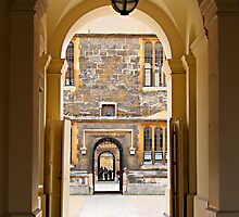 Archways and Courtyards by Hertsman