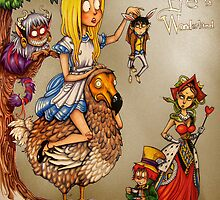 Pye in Wonderland by marin5