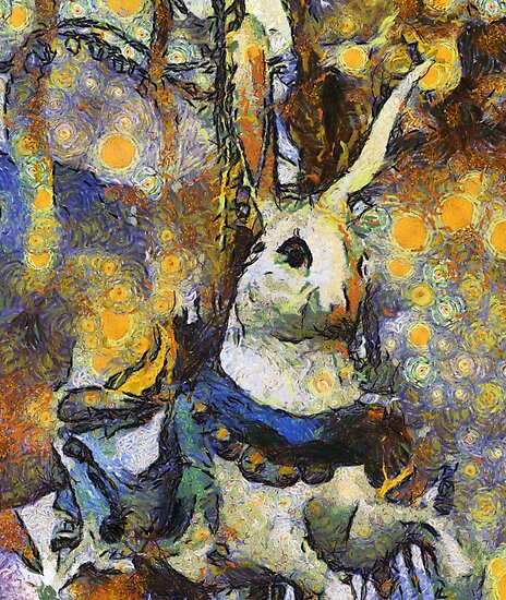 Childhood Dreams - Chasing the White Rabbit by Bunny Clarke