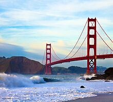 Golden Gate Bridge by Nickolay Stanev