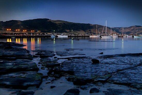 Twilight, Apollo Bay Harbour,Great Ocean Rd by Joe Mortelliti