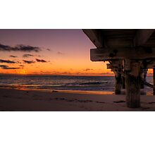 Jurien Bay Jetty at Sunset Photographic Print