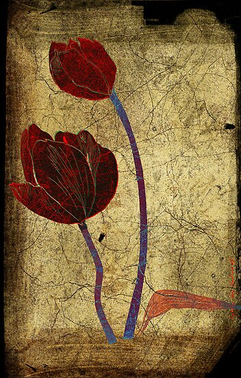 2 tulips by frederic levy-hadida