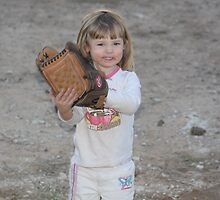 Baseball...starts Young... by EvaMarie Cannon