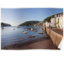 Bayard's Cove and the River Dart Poster