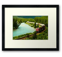 Canadian Pacific Railway Framed Print