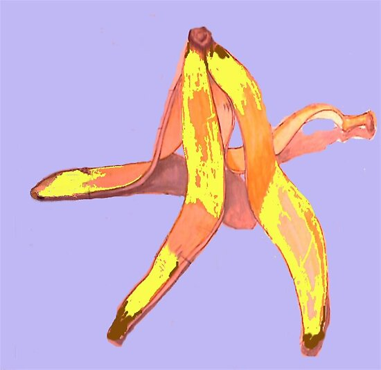 Banana skin by Woodie