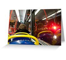 London Passenger Greeting Card