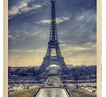 Eiffel Tower Vintage by thephotosnapper