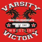 varsity wrestler by takedown