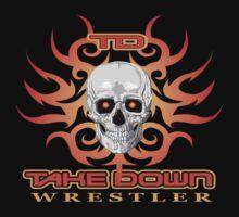 skull flame tatoo by takedown
