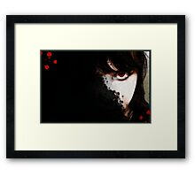 vampire eye Framed Print