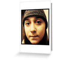 Hannah.  Greeting Card