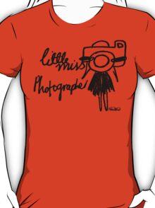 Little Miss Photographer T-Shirt