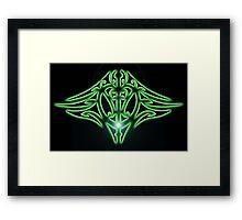 Electro Maori VisionZ Framed Print
