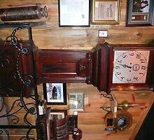 100 yr. Old Grandfather Clock & Other Antiques. by Mywildscapepics
