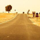 Desert road by MMcAllister