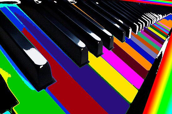 Colourful Music by Gillian  Ford
