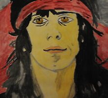 keith richards painting by mariana95