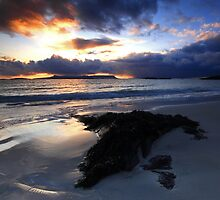 Sunset over Eigg by Douglas  Latham
