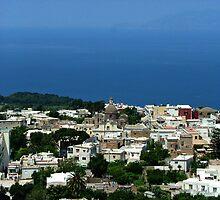Capri and The Tyrrhenian Sea by jules572
