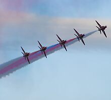 Red Arrows by Yvonne Falk Ponsford