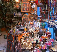 A Shop in the Medina in Tunis by Laurel Talabere