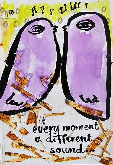 every moment a different sound by donnamalone