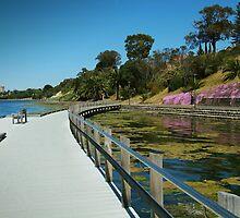 Rippleside Board Walk, Geelong by Joe Mortelliti