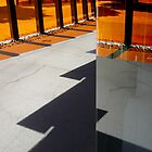 Shadows and Reflections, Docklands by Roz McQuillan