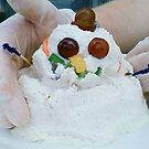Chicken Salad Snowman by ArtistJD