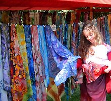 Photo of my scarves, Hanseatic Days by SingingScarves