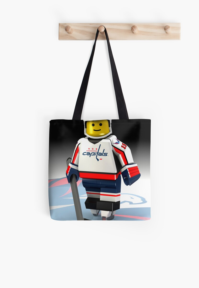 Washington Capitals lego-man by Johannes Wessmark