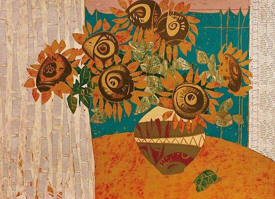 Sunflowers by Tigran Akopyan