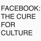 Facebook: the cure for culture by ghettocooler