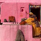 Offerings. Orchha by Claude  Renault