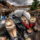 Canoe Break 2 by Bob Larson