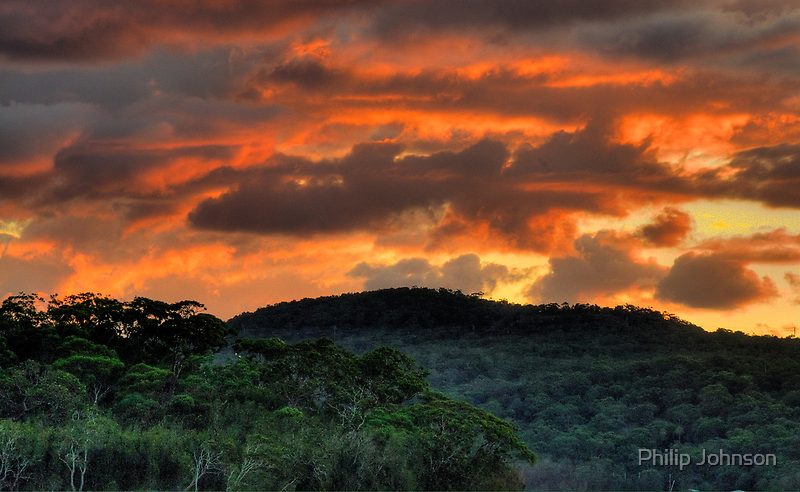 Come On Baby Light My Fire ! - Narrabeen Lakes, Sydney - The HDR Experience by Philip Johnson