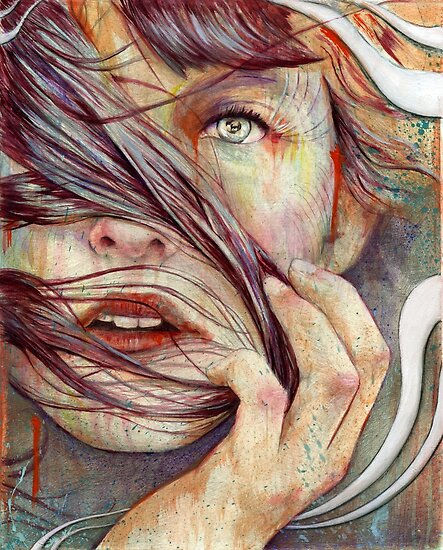 Portrait Art: Opal by Michael Shapcott